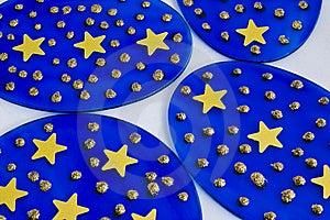 满天星斗的光盘 免版税图库摄影 - 图片: 11151087