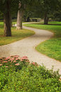 Path green park Royalty Free Stock Photo