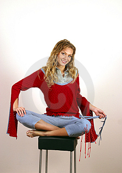 Young Blonde Royalty Free Stock Images - Image: 1125199