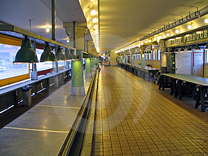 Empty Pike Place Market Stock Photo - Image: 1127050