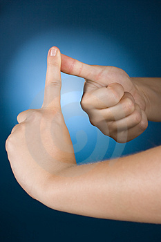 Hands Counting - 1 Stock Images - Image: 1127424
