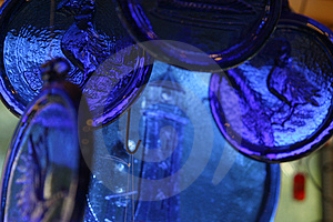 Country Blue Glass Royalty Free Stock Images - Image: 1127909