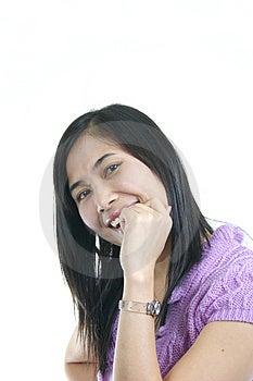 She Smile 24 Royalty Free Stock Photo - Image: 1131895