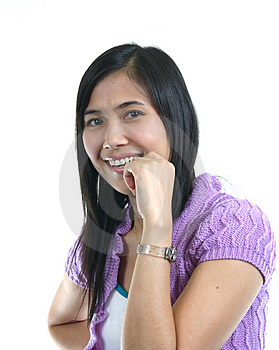 She Smile 25 Stock Images - Image: 1131904