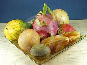 Exotisk Frukt Arkivbild - Bild: 1134102