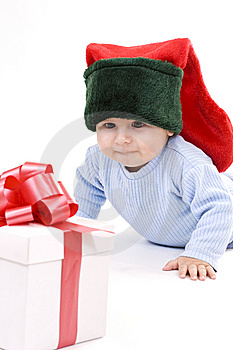 Baby elves Royalty Free Stock Photos