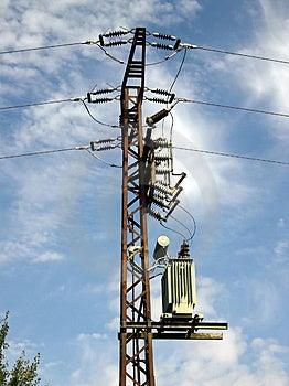 Power Pole Stock Image - Image: 1140941