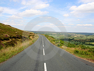 Yorkshire Dales road Free Stock Photography
