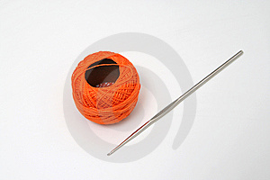 Orange Skein Stock Photos - Image: 11430853
