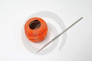 Orange Skein Stock Photos - Image: 11430853