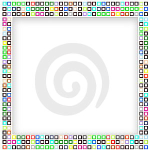 Mosaic Frame Stock Photos - Image: 11434333
