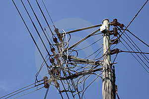 Telephone Cables Royalty Free Stock Images - Image: 1150649
