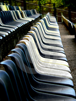 Empty Stadium Stock Photo - Image: 1152940