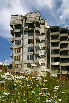 Lost Building Stock Photography - Image: 1165152