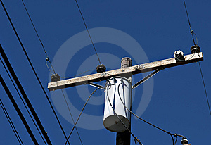High Voltage Lines Stock Photo - Image: 11626920
