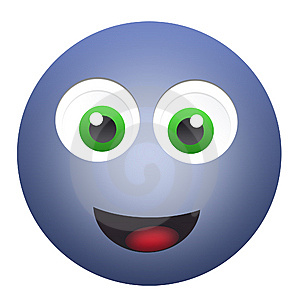 Happy emoticon face Free Stock Photos