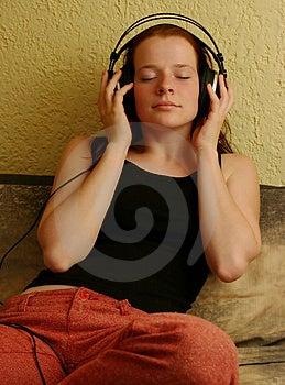 Enjoying Music 5 Stock Images - Image: 1172854