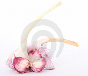 Garlic cloves Royalty Free Stock Image
