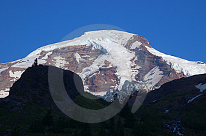 Mighty Mountain In Summer Stock Image - Image: 1179481