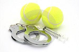 Abuso Do Produto Químico Do Esporte Fotos de Stock - Imagem: 1182953