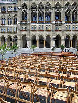 Open-air Concert In Vienna, Austria Stock Photo - Image: 1190350