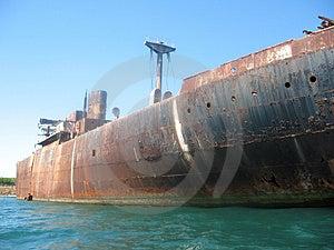 Wreck Royalty Free Stock Photos - Image: 1192878