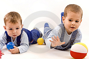 Boys playing Free Stock Photo