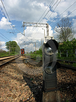 Railway Signaling Stock Photos