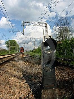 Railway Signaling Stock Photos
