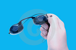 Suntan Goggles Free Stock Photography