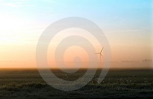 Whitemoor Turbine Stock Photos