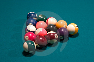 Pool Balls Free Stock Image