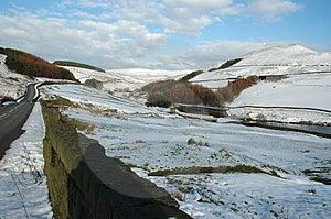 Nieve en invierno Fotos de archivo libres de regalías