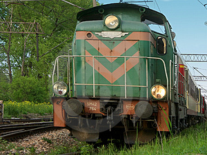 Old Diesel Locomotive Free Stock Photos