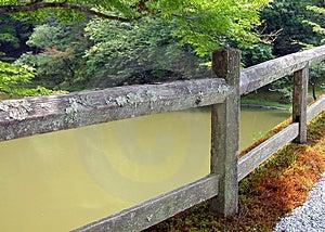 Japanese Garden Detail Stock Photography
