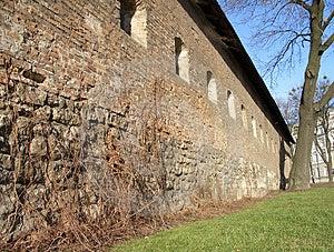 Fortress Walls Free Stock Photo