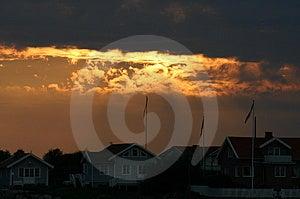 Burning Sky Stock Photos