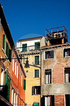 Along The Streets Of Venice Stock Photos