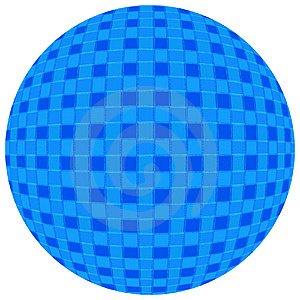 Blue Ball Free Stock Photography