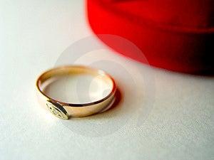 Ring With A Diamante 2 Free Stock Photos