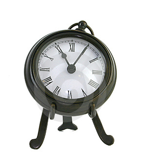 Classic clock 2 Royalty Free Stock Photo