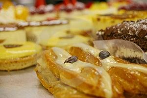 Lemon Pie And Delicassy Stock Image