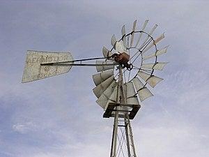 Moinho de vento de Aermotor Imagem de Stock Royalty Free
