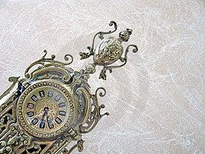 古色古香的时钟 库存图片