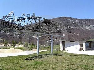 Glidflygplanskelett Arkivbild