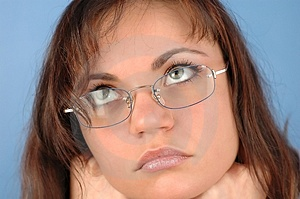 Woman With Glasses Free Stock Photos