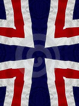 Czerwony Biały i błękit krzyż Fotografia Royalty Free