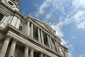 The Mighty St Paul Cathedral, London Royalty Free Stock Photography - Image: 1203287