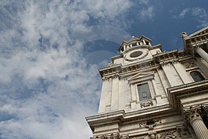 The Mighty St Paul Cathedral, London Stock Image - Image: 1203301