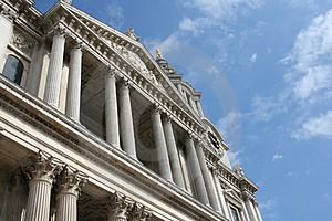 The Mighty St Paul Cathedral, London Royalty Free Stock Photos - Image: 1203318